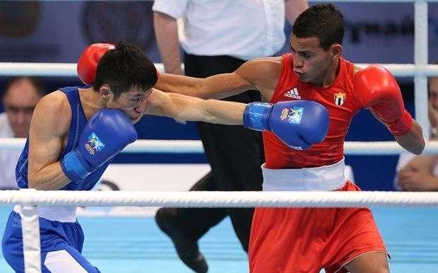 Robeisy Ramírez (56kg). Solo los jueces lo vieron caer en cuartos de final