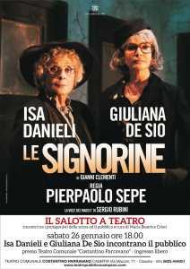 Locandina Isa Danieli - Giuliana De Sio