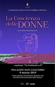 Locandina La Coscienza delle Donne 2019 Napoli