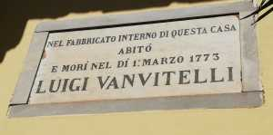 lapide casa vanvitelli - 1879
