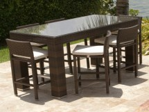 Outdoor Patio Bar Height Tables