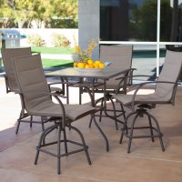 Bar Height Patio Table Set & ... Good Looking Bistro Patio ...