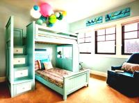 Bedroom: Bunk Beds For Small Rooms With Colorful Themes