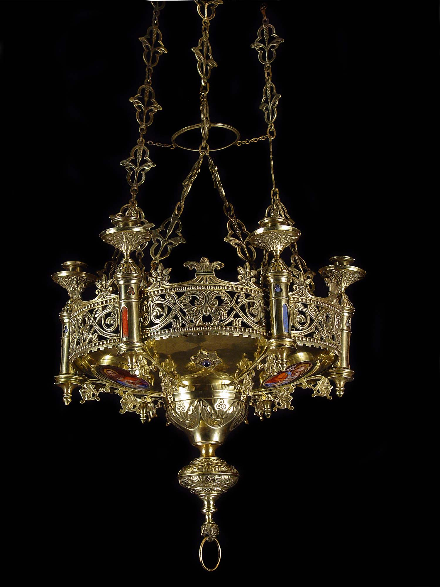 Lighting Glamour Gothic Chandelier With Unique And