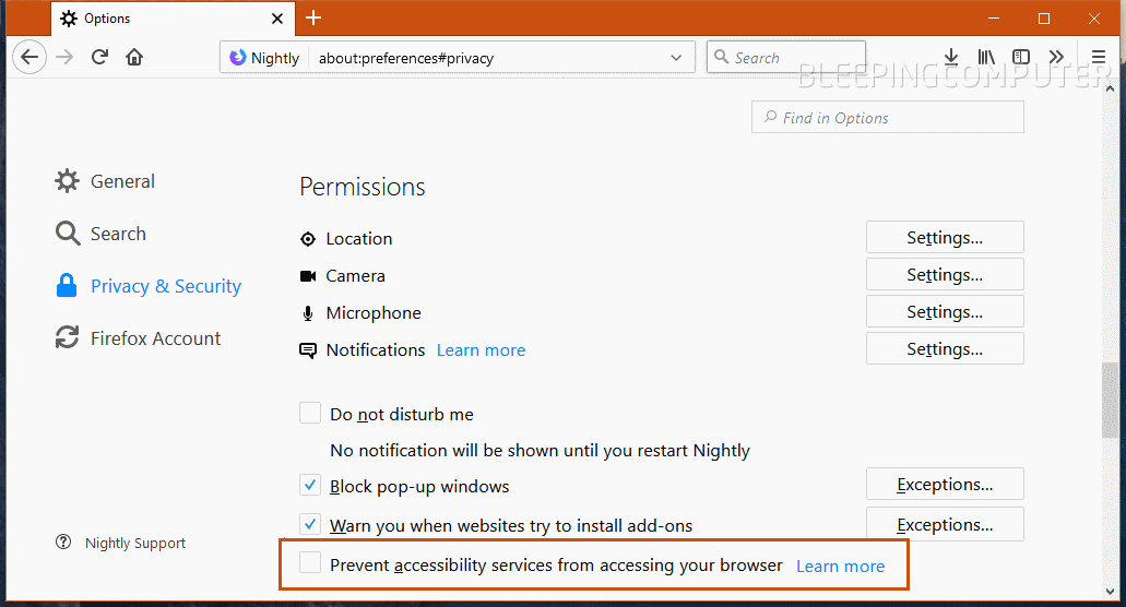 Upcoming Firefox 57 Gets New Protection Against Apps That Snoop on Users