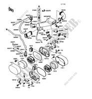 VN1500 A4 VN 15 1990 1500 MOTOS Kawasaki motorfietsen