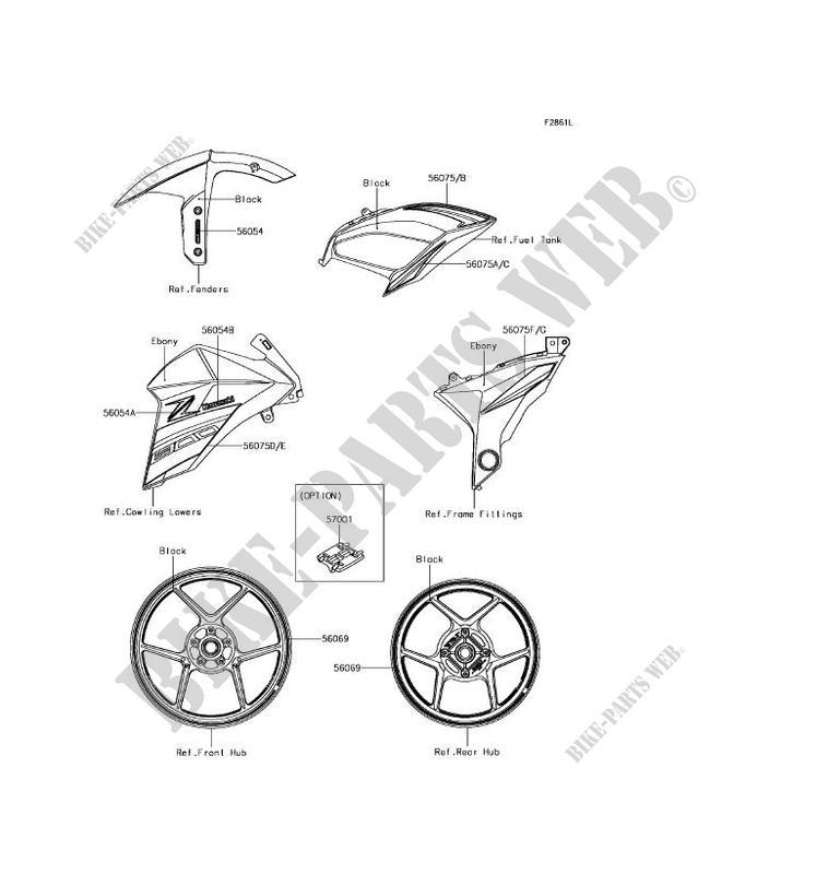 ZR800BGF Z800 ABS 2016 800 MOTOS Kawasaki motorfietsen