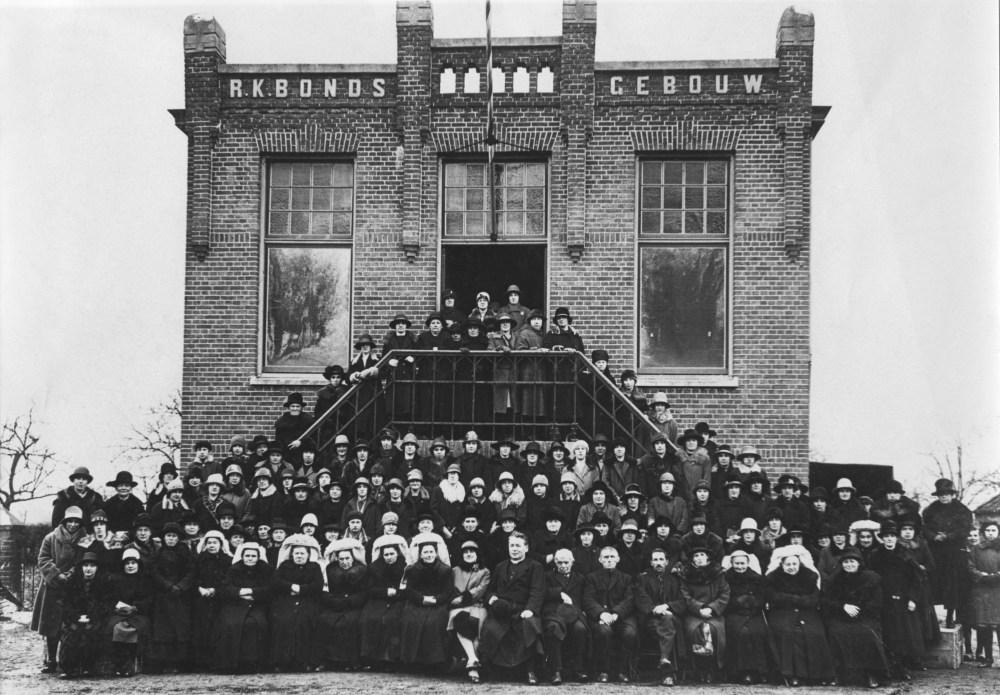 Foto van Boerinnenbond uit 1929
