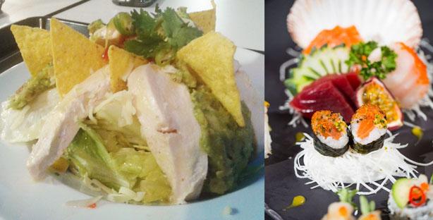 mercado de alges sushic no mercado sushi