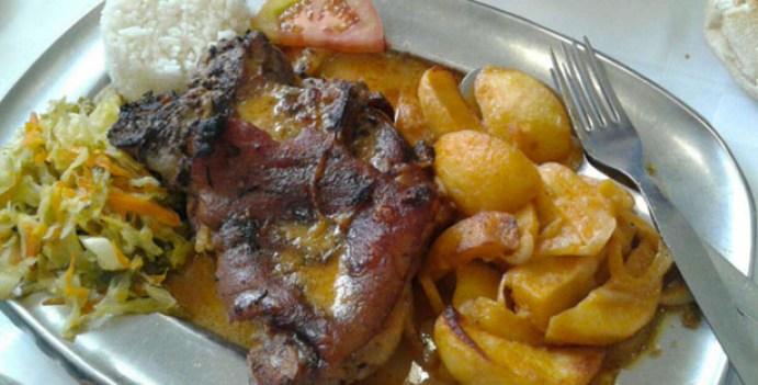 garfo real churrasqueira restaurante tradicional queluz pernil
