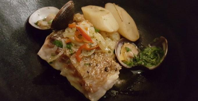 tagide restaurante sofisticado chef nuno diniz chiado lisboa pargo ameijoas migas sordas