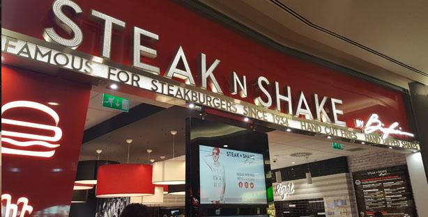 steak 'n shake hamburgueria dinner burgers milkshakes forum montijo2