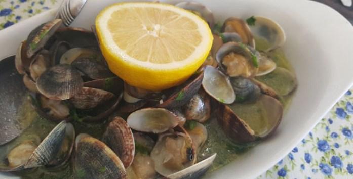 dona bia restaurante peixe e marisco praia comporta alentejo ameijoas