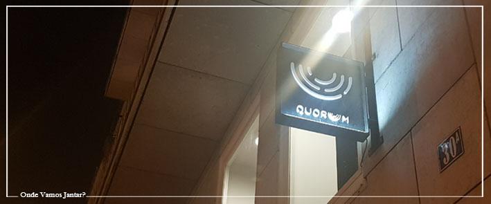 quorum restaurante