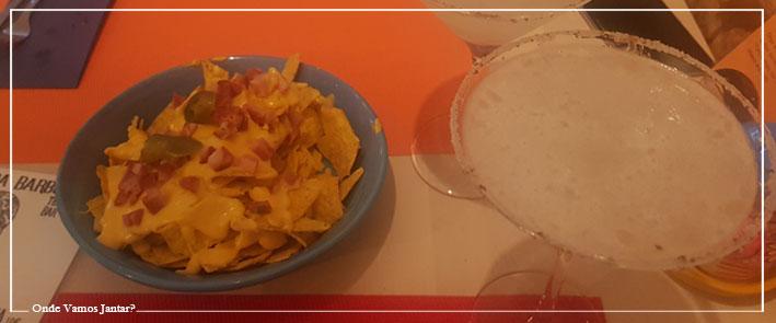 calavera barbuda nachos