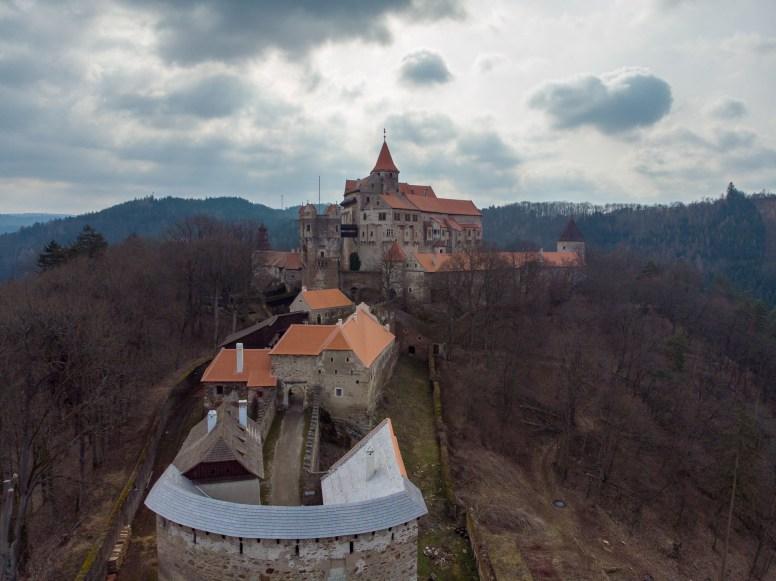 Foto z dronu - nemovitosti na Vysočině