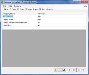 E-Prime startup info editor