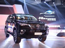 All New Toyota Fortuner India