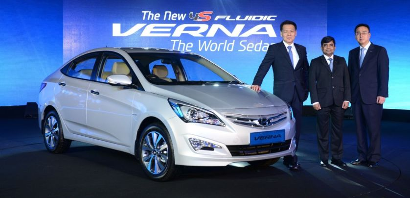 All-New Hyundai 4S Fluidic Verna