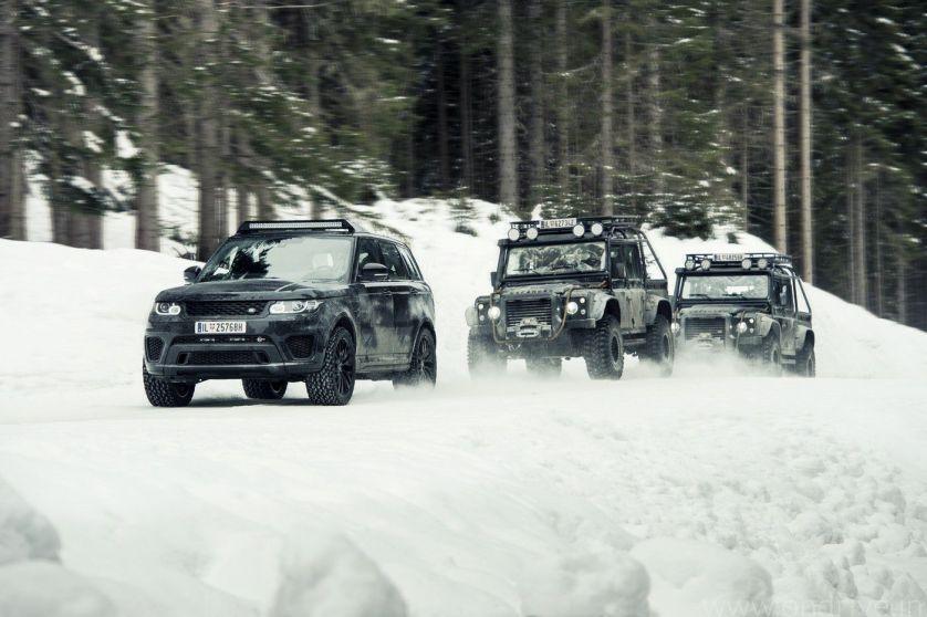 Jaguar Land Rover Bond Cars