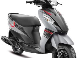 SUZUKI LET'S IN TRENDY NEW DUAL-TONE COLOURS GREY