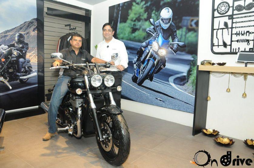 Triumph Motorcycles showroom Bangalore