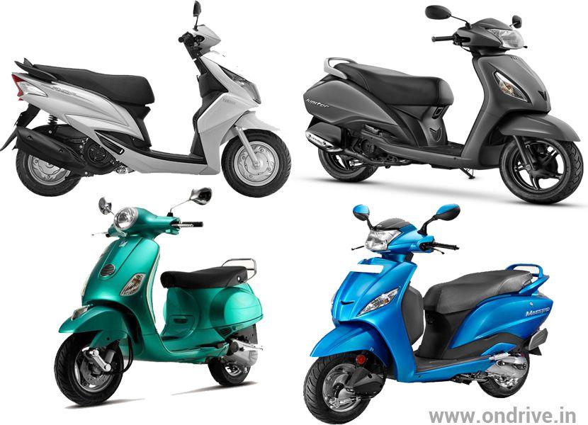 Ray Price Honda >> Hero Maestro vs Honda Activa vs TVS Jupiter vs Yamaha Ray vs Piaggio Vespa VX