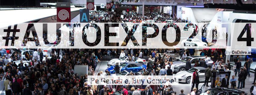 Auto Expo 2014 OnDrive.in