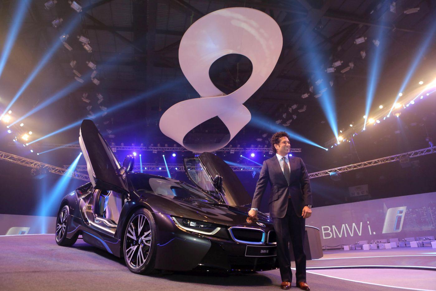 Bmw I8 Hybrid Sports Car Launch In India