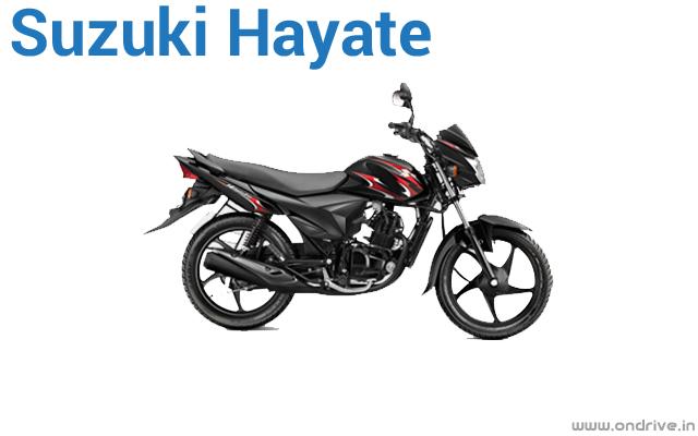 Suzuki Hayate  Manual