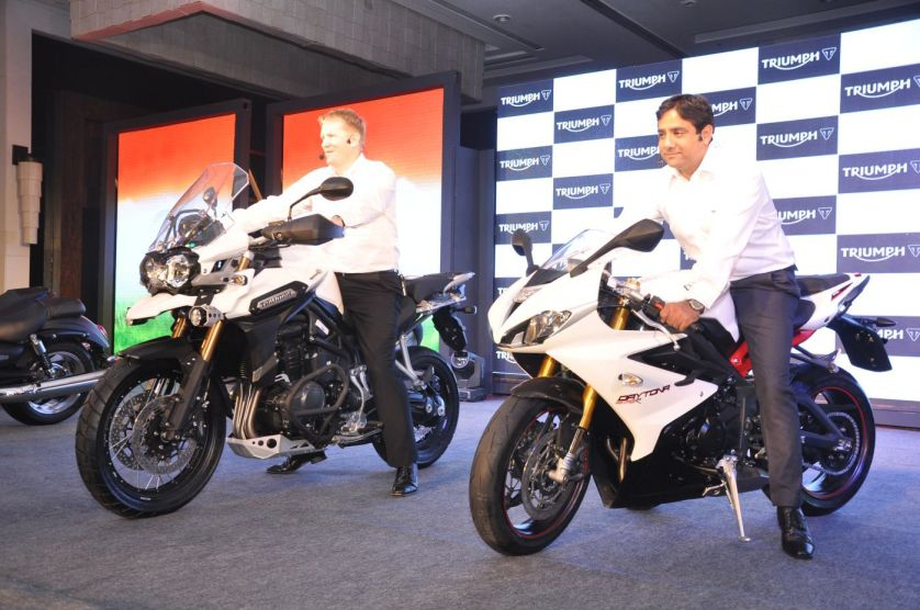 Triumph Motorcycle India launch