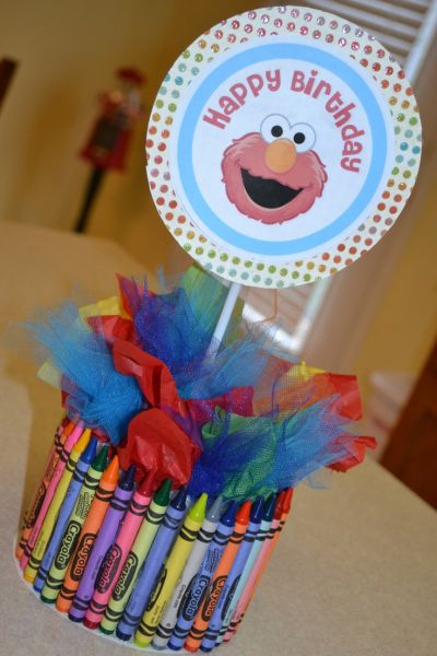 Elmo Party Table Decorations