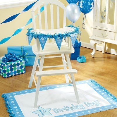 old high chair ideas suzanne kasler quatrefoil first boy birthday highchair decoration