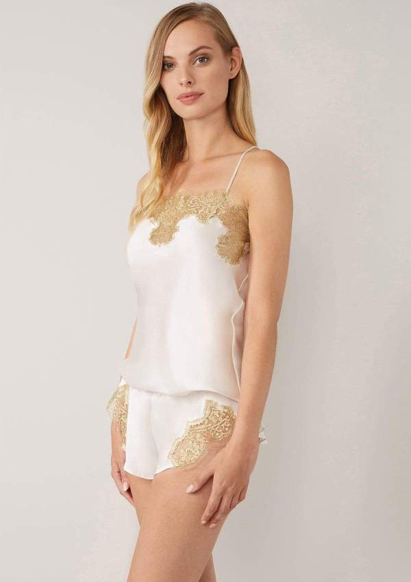 Gina French Lace Camisole Gilda&Pearl Eggshell