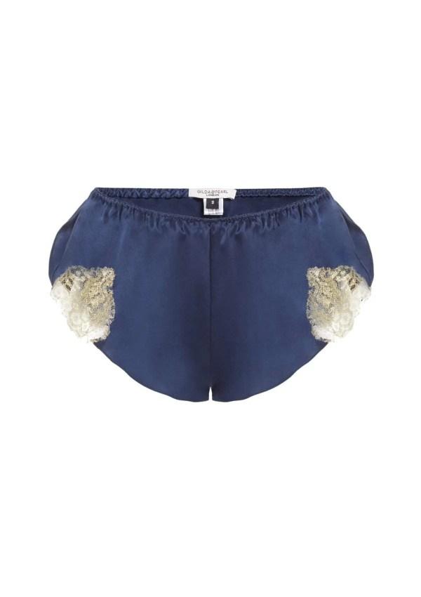 Gina French Lace Tap Pant Gilda&Pearl Bleu