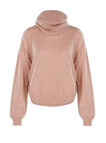 Jasper Roll Neck Sweater Flannel