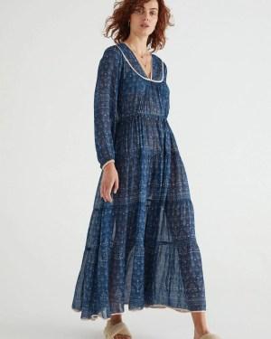 Veronica Maxi Dress Flannel