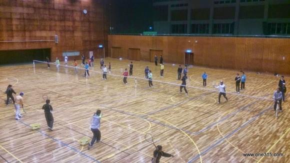 ソフトテニス練習会・エナミ塾1