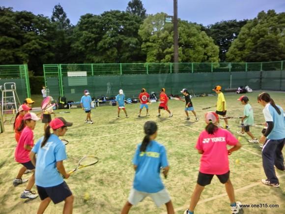 ソフトテニス練習会・エナミ塾4