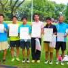 滋賀県守山市ソフトテニス大会・夏2015