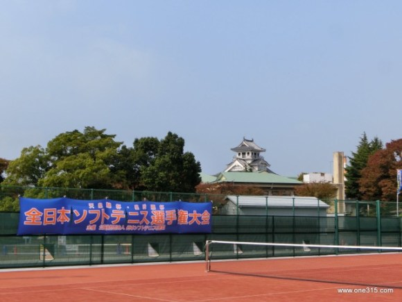 天皇賜杯皇后賜杯全日本ソフトテニス選手権大会2015@滋賀 1日目
