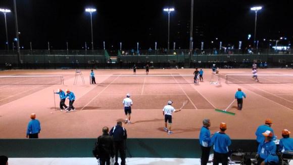 全日本ソフトテニス選手権大会天皇杯皇后杯2015@滋賀 大会1日目