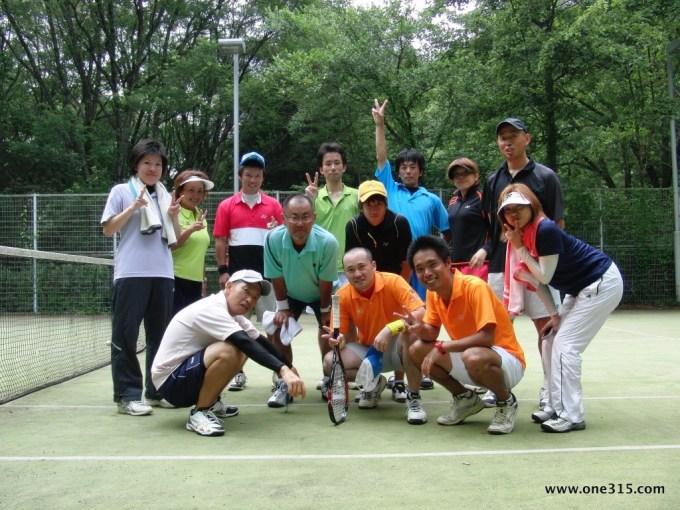 ソフトテニつ部 2012.08.10