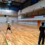 滋賀県守山市・守山市民体育館テニスコート