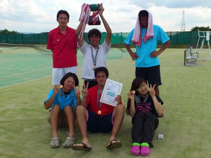 滋賀県ソフトテニス 野洲市大会・夏季2012