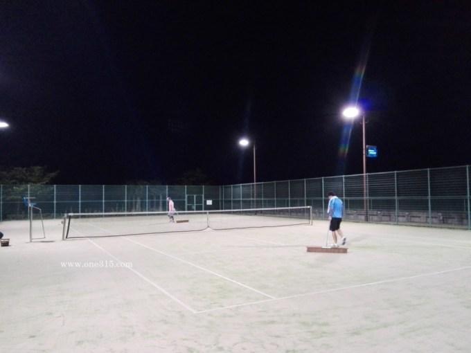 滋賀県東近江市五個荘きぬがさ公園テニスコート ソフトテニス