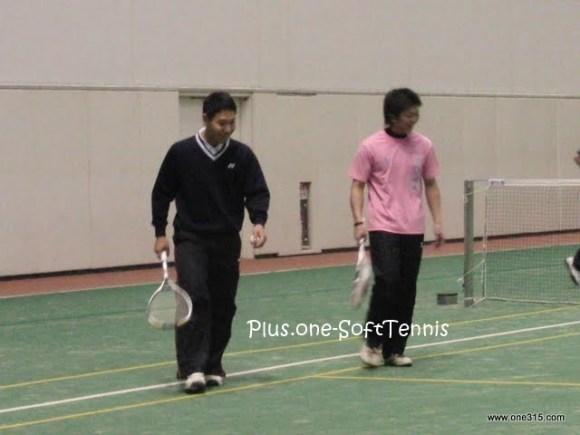 ソフトテニス交流戦「長浜コミュニティ」