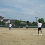 滋賀県近江八幡市ソフトテニス大会・夏季2009