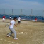 滋賀県野洲市ソフトテニス大会・秋の個人戦2009順延