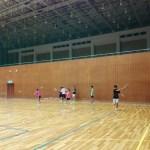 2017/06/06(火) ソフトテニス練習会